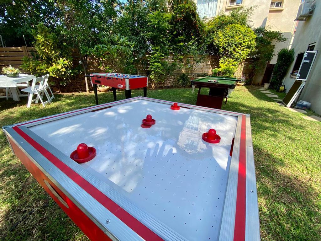 שולחן הוקי אוויר ליום הולדת