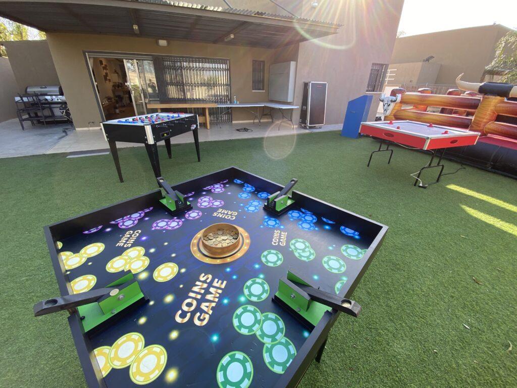 שולחן משחק משחק המטבעות