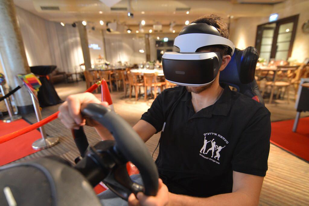 מציאות מדומה באירוע של מעטפת