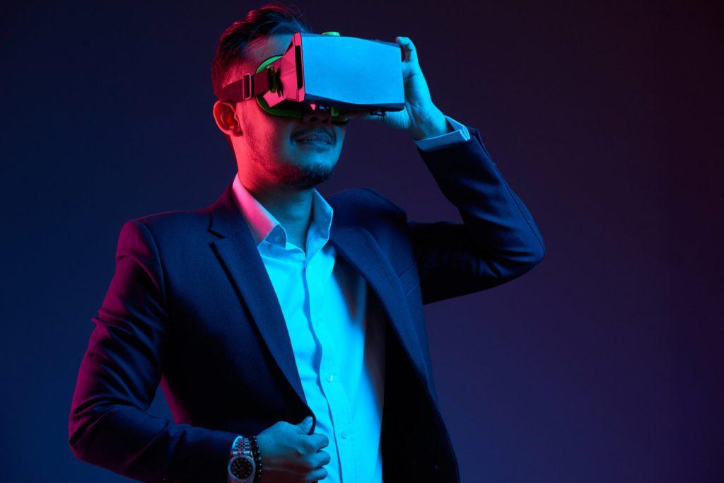מציאות מדומה לאירועים משחק חשיבה