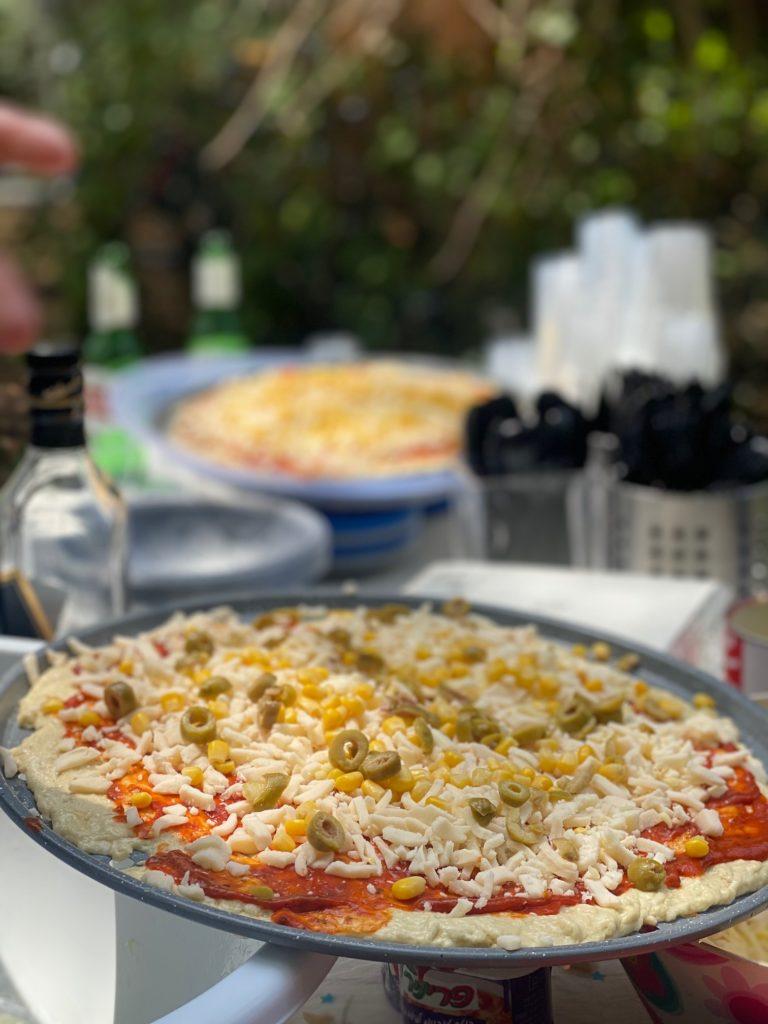 דוכן פיצה